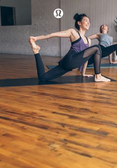 Breathe into the pose with gear that doesn't hold you back.