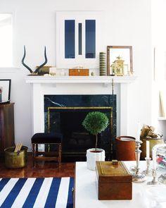 #fireplace   #mantel