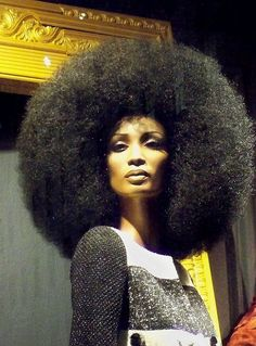 AFRO - natural hairstyles for black women http://www.shorthaircutsforblackwomen.com/black-hair-growth-pills/