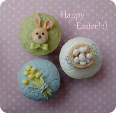 maria olejniczak - easter - easter cupcakes