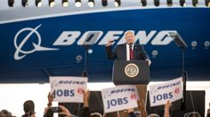 """President Trump on Monday touts the """"great jobs numbers""""since he took office —numbers that his own administration's official statistics show aren't allthat great."""
