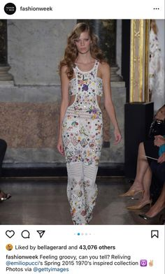 Crazy Dresses, Emilio Pucci, Spring Summer 2015, Textures Patterns, Runway, Women Wear, Formal, Milan Fashion, How To Wear