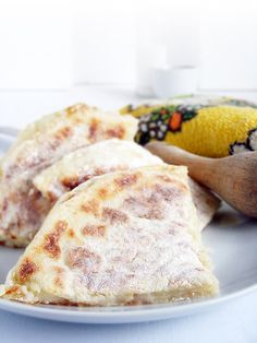 Feed the Piglet... - Fadge (pan-fried potato bread)