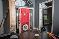 Blower door test, the final step to ensuring you have an energy efficient home