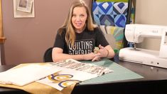Prepare your quilt sandwich and get ready for the newest free-motion challenge quilting from Angela Walters.....after this, you'll be ready to master the feather quilting design!