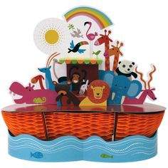 Noah's Ark Centerpiece. Buy one for each of the tables.