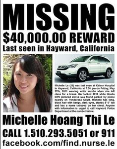 newly missing persons | ... Hoang Thi Le missing from Hayward Caifornia new missing person's flyer