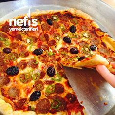 Pratik Milföy Pizza Yapımı