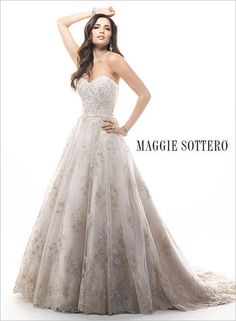 Maggie Bridal by Maggie Sottero Dress Hannah-4MS901   Terry Costa Dallas www.terrycosta.com #bridalgowns #weddinggowns #terrycosta