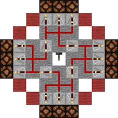 Minecraft Lighthouse Circuit