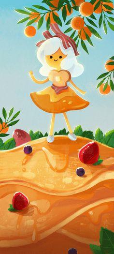 Adventure time , Breakfast Princess ! fan art :D