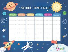 جدول الدراسي Cute Notes, Good Notes, Timetable Template, School Timetable, Memo Notepad, Note Doodles, Daily Planner Pages, Note Memo, School Labels