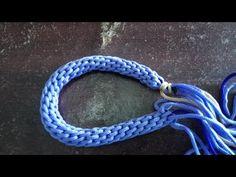 Tutorial tas talikur membuat Handle Zigzag Warna - YouTube