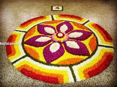 Easy Rangoli Patterns, Rangoli Designs Simple Diwali, Rangoli Simple, Rangoli Designs Latest, Rangoli Designs Flower, Free Hand Rangoli Design, Small Rangoli Design, Colorful Rangoli Designs, Rangoli Ideas