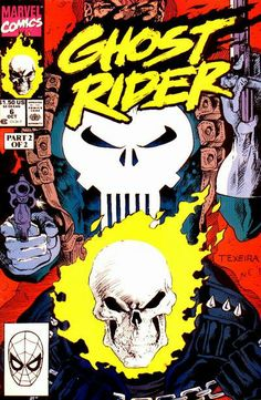 Ghost Rider Vol. 3 # 6 by Mark Texeira