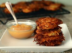 Golden brown latkes are usually the best part of a Hannukah meal — and they're easier to make than you might think with this classic recipe!