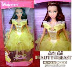 disney parks belle doll 2000 - Google Search