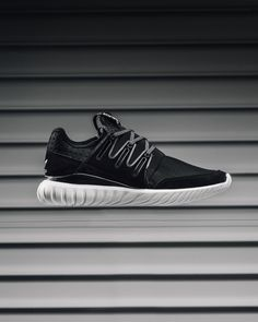 Adidas Tubular Radial White On Feet