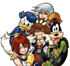 Kingdom Hearts--the story of my highschool existance in a nutshell.
