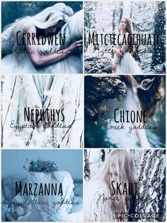 Mythology: Goddess of Winter and Death part 1/2 [Celtic - Cerridwen, Aztec - Mitctecacihuatl , Egyptian - Nephthys, Greek - Chione, Baltic/Slavic - Marzanna & Norse - Skadi]