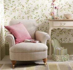 Find sophisticated detail in every Laura Ashley collection - home furnishings, children's room decor, and women, girls & men's fashion. Bedroom Colors, Bedroom Decor, Bedroom Ideas, Blue Bedroom, Laura Ashley Home, Childrens Room Decor, Home Fashion, Home Collections, Interior Inspiration