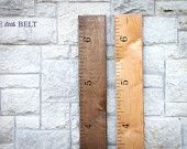 Ruler height charts on Etsy