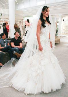 Kat Sanchez wearing a gorgeous Mark Zunino wedding dress Featured Dresses, Season 10 Part 7: Photos: TLC