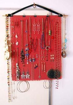 Organizador de collares y aros | Necklaces and earrings organizer | decyng