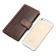 RFID Protector Genuine Leather Wallet