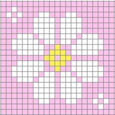 C2c Crochet Blanket, Graph Crochet, Kids Crochet, Crochet Stitch, Crochet Baby, Knitting Charts, Knitting Patterns, Pixel Art Animals, Cross Stitch Designs