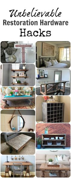 I LOVE Restoration Hardware, but it is SOO expensive. Here are some amazing ways to DIY your own home decor...  Read more »