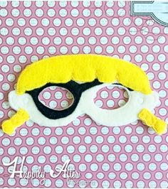 Get ready to sail with this Pirate Girl Mask ITH Embroidery Design Felt Mask Embroidery Designs