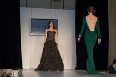 Fashion Show by Randi Rahm featuring jewels by Lorraine Schwartz as part of the 58th annual event.