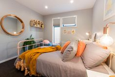 Get the Look: Sam & Emmett's Winning Kids Bedroom. Visit https://curate.co.nz/featured/as-seen-on-the-block-nz-2016 for links to the products as seen on The Block