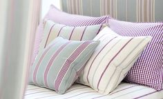 Somerford - Cotton Stripes - #Sanderson #Decoracion #Tapizado #Tapizados #Pillows #Muebles #Cojín  #Cojines #Estampado #CojinSanderson #Cojincalidad #Cojinestampado  #Cojinrayas #Rayas #Estudioestilo
