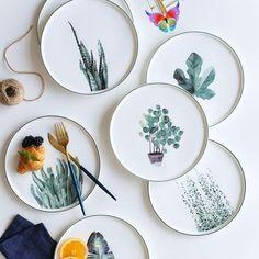 Botanical plate -  Botanical plate  #Botanischer #Plate  - #Artists #botanical #ceramics #ComicsAndCartoons #plate #Pottery<br> Ceramic Plates, Ceramic Pottery, Decorative Plates, Pottery Plates, Clay Plates, Painted Plates, Hand Painted, Ceramic Painting, Ceramic Art