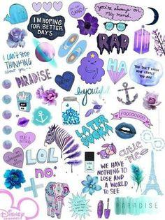 Imagen de wallpaper, purple, and blue