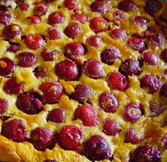 Clafoutis aux cerises et sucre roux