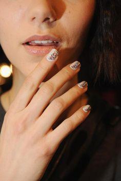 Ideas cool de nail art: uñas arcoiris