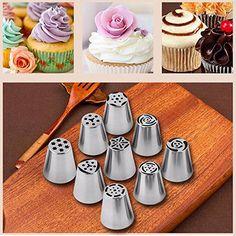 Cake Kitchen Stainlessteel Pi Nozzle Pi Russian Cake Tool