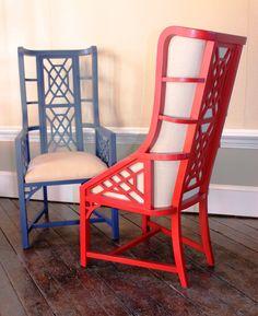 Taylor Burke Home - Kings Grant chairs.   Showroom: SAMS G-7055  #hpmkt