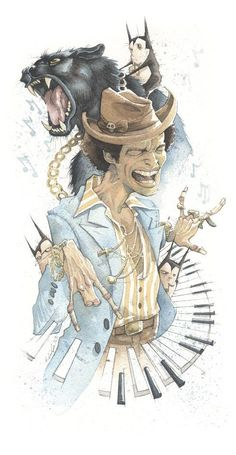 made by: Gris Grimly , illustration