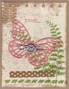Butterfly Basics, Gorgeous Grunge and Happy Watercolor stamps.