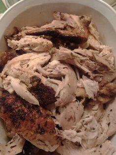 Smoked pork roasted chicken. A Centaur creation.