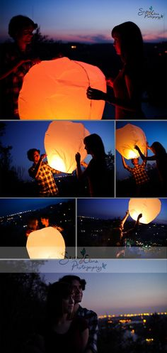 Save the date on lanterns! BRILLIANT !!!