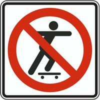 Skateboarding Prohibited Sign - Fast shipping, direct from the USA manufacturer. Order your Skateboarding Prohibited Sign today. Safety Signs And Symbols, Aboriginal Education, Safety Posters, Home Safety, Stars And Moon, Skateboarding, Signage, Prints, Geography