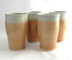 ceramic tumbler by clayhaven, pretty glaze.