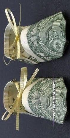 Creative Money Gifts, Clothes Hanger, Coat Hanger, Clothes Hangers, Clothes Racks