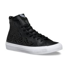 44bd2df2d44 The Cut Out Decon brings a twist to the iconic Vans silhouette  a new  deconstructed leather high-top upper with a custom die cut design that lets