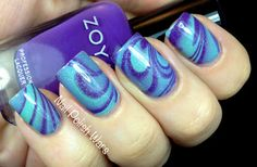 Water Marble featuring Zoya Mira!